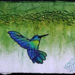 Art Journal Hummingbird